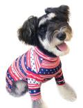 【WEB&一部店舗限定】【DOG WEAR】フラッグボーダーロンパース