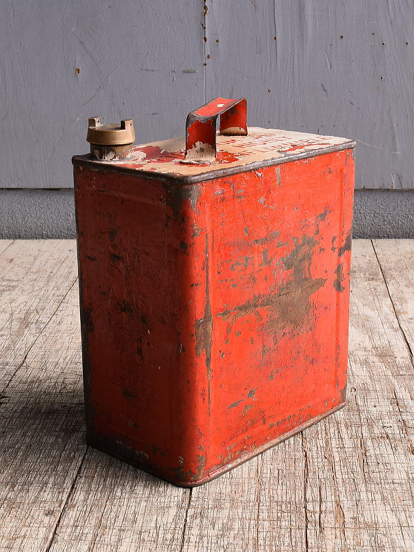 イギリス アンティーク ぺトロール缶 携行缶 10276