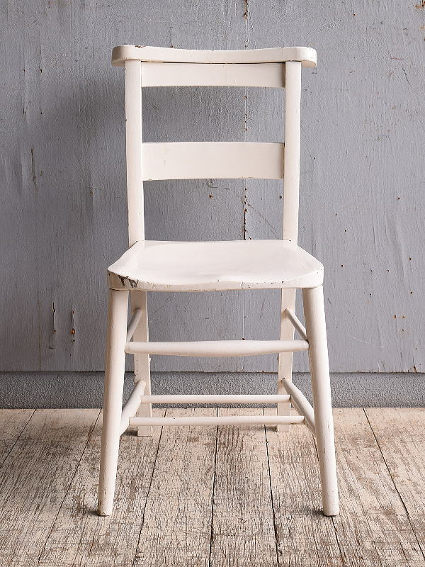 イギリス アンティーク家具 チャーチチェア 椅子 10343