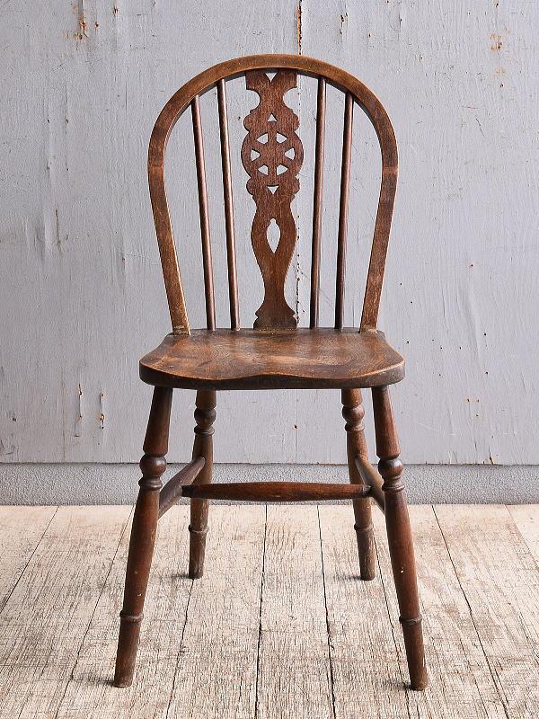 イギリス アンティーク家具 キッチンチェア 椅子 10345