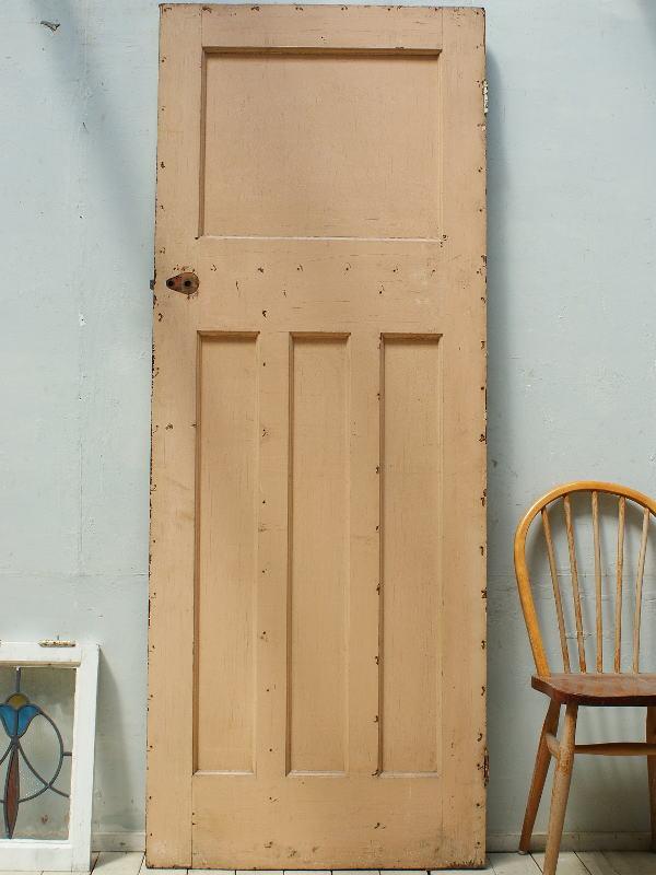 イギリス アンティーク 木製ドア 扉 ディスプレイ 建具 3257