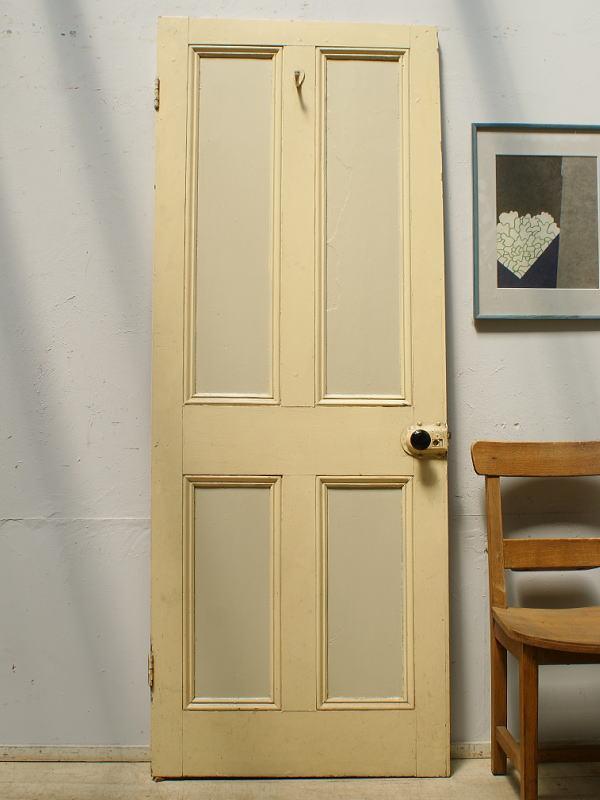イギリス アンティーク 木製ドア 扉 建具 6424