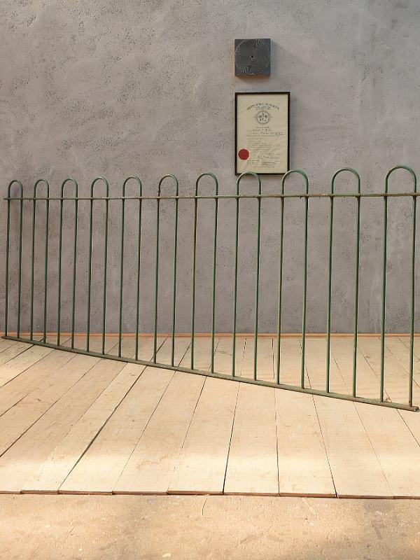 イギリス アンティーク アイアンフェンス ゲート柵 ガーデニング 6592