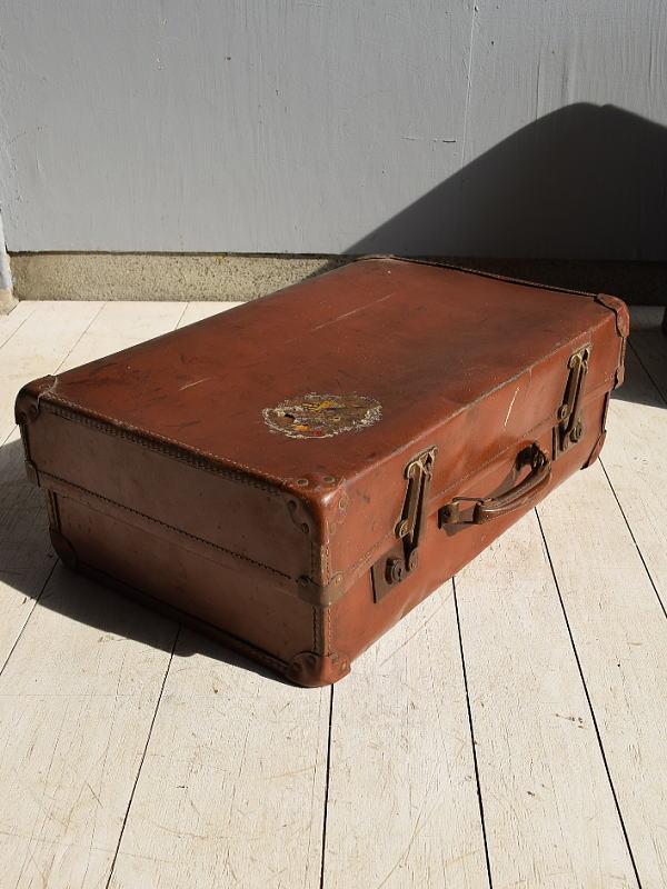 イギリス アンティーク スーツケース トランク ディスプレイ 旅行鞄 7159