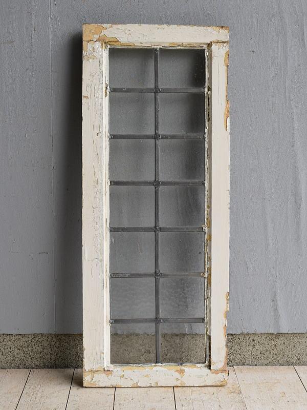 イギリス アンティーク 格子窓 7554