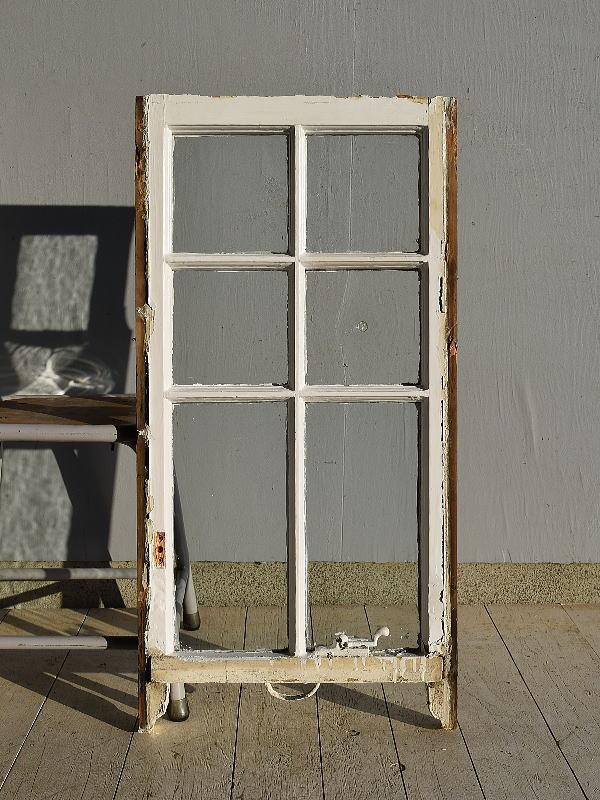 イギリス アンティーク 木製窓 ディスプレイ 建具 7568