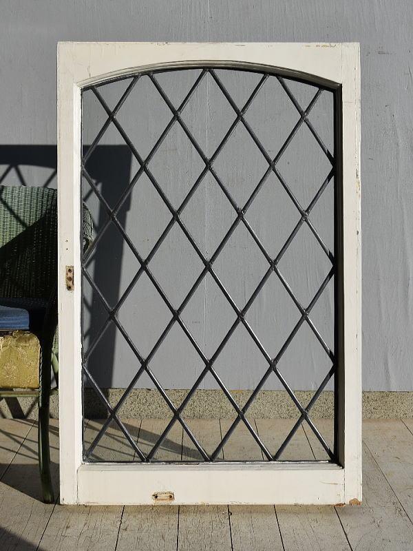 イギリス アンティーク 木製窓 ディスプレイ 建具 7572