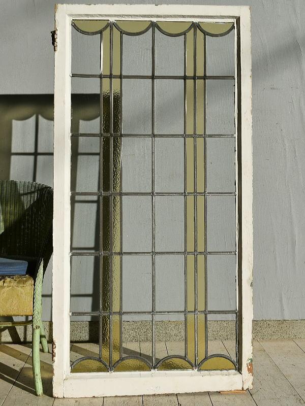 イギリス アンティーク ステンドグラス 窓 7584