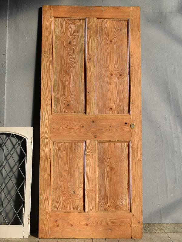 イギリス アンティーク オールドパイン ドア 扉 建具 7640