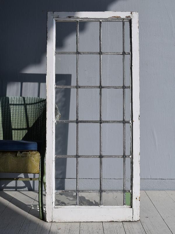 イギリス アンティーク 窓 無色透明 7755