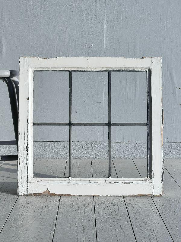 イギリス アンティーク 窓 無色透明 7774A