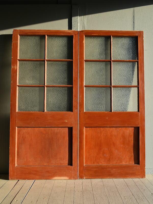 イギリス アンティーク ドア 扉 建具 7868