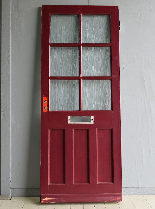 イギリス アンティーク ドア 扉 建具 ディスプレイ 7932