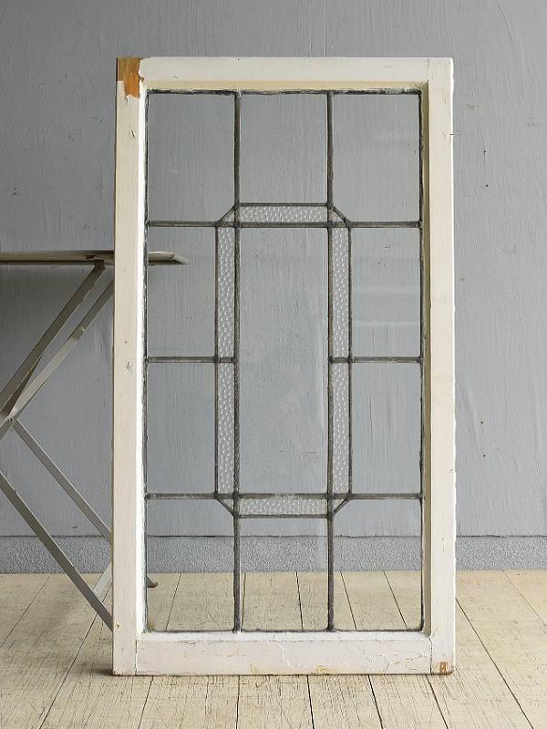 イギリス アンティーク 窓 無色透明 7989