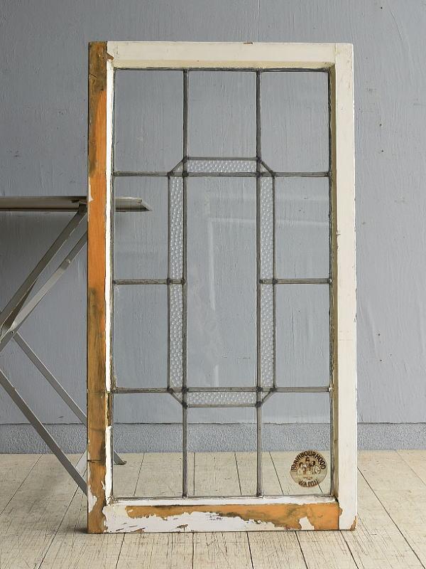 イギリス アンティーク 窓 無色透明 7990