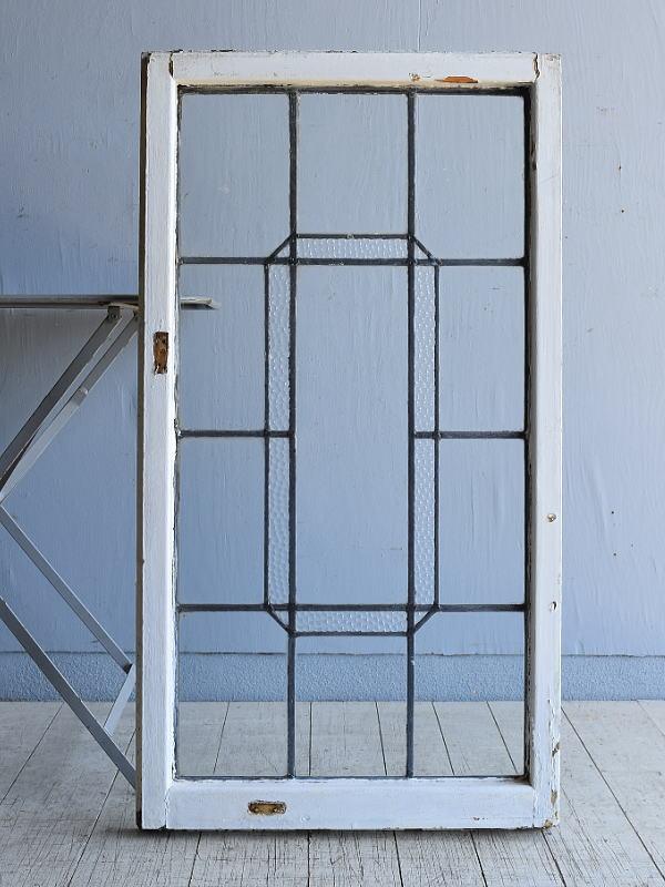 イギリス アンティーク 窓 無色透明 8001