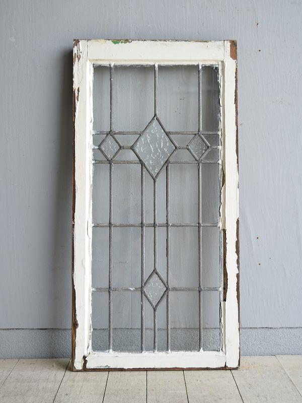 イギリス アンティーク 窓 無色透明 8005