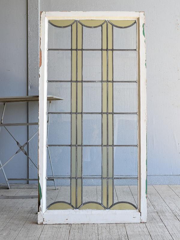 イギリス アンティーク 窓 無色透明 8151