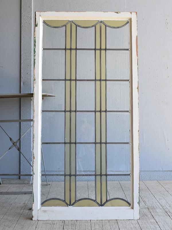 イギリス アンティーク 窓 無色透明 8152