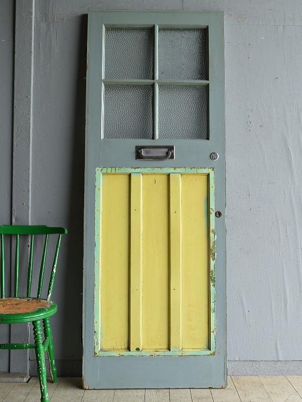 イギリス アンティーク ドア 扉 建具 8186