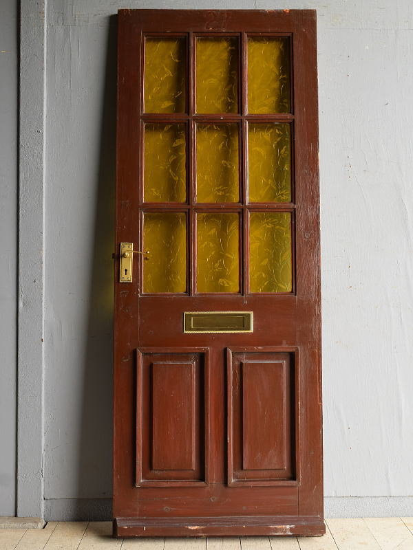 イギリス アンティーク ドア 扉 建具 8332