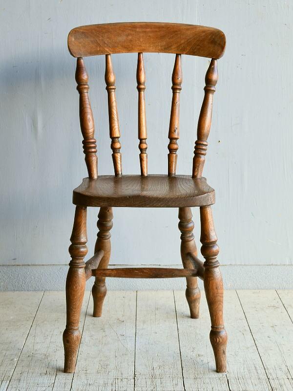 イギリス アンティーク家具 キッチンチェア 椅子 8353