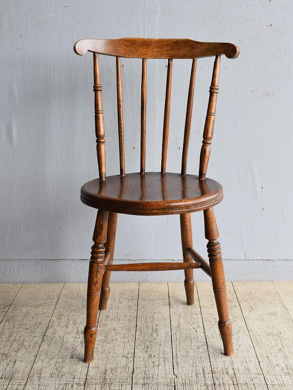 イギリス アンティーク家具 キッチンチェア 椅子 8474