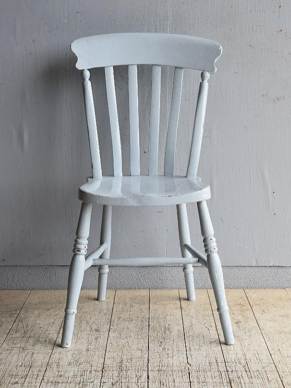 イギリス アンティーク家具 キッチンチェア 椅子 8475