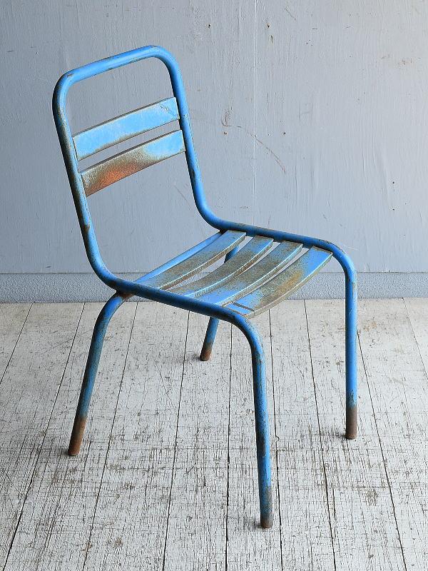 フレンチ アンティーク スタッキング ガーデンチェア 椅子 8588
