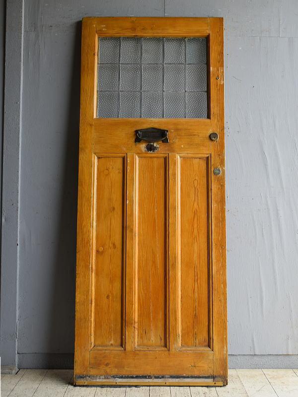 イギリス アンティーク ドア 扉 建具 8655