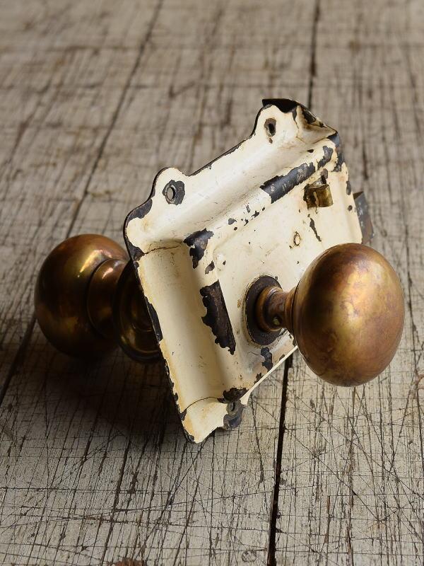 イギリス アンティーク ラッチ&ドアノブ 建具金物 8714