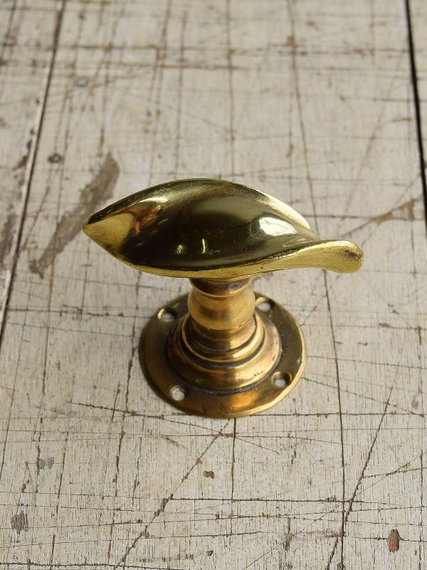 イギリス アンティーク 真鍮 ドアノブ 建具金物 握り玉 8748