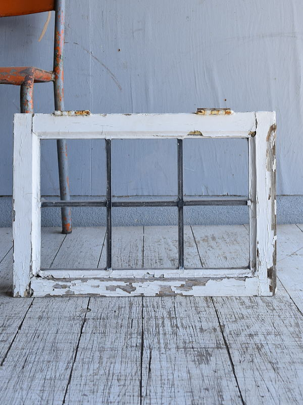 イギリス アンティーク 窓 無色透明 8775