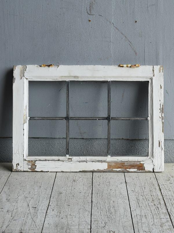 イギリス アンティーク 窓 無色透明 8784