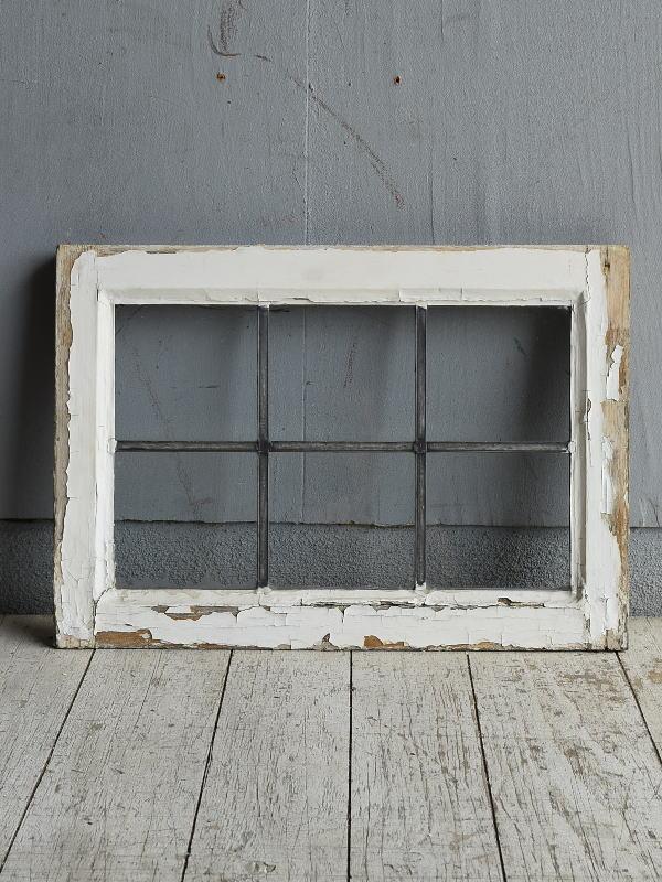 イギリス アンティーク 窓 無色透明 8786