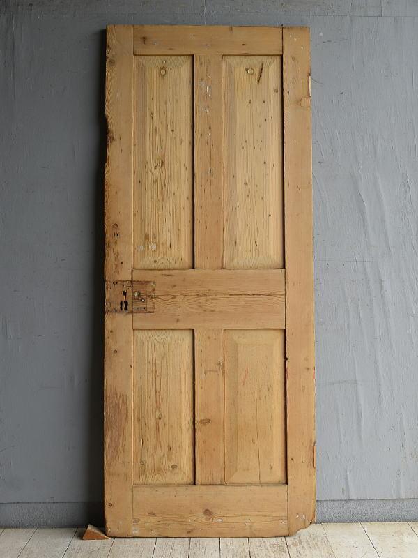 イギリス アンティーク オールドパイン ドア 扉 建具 8816
