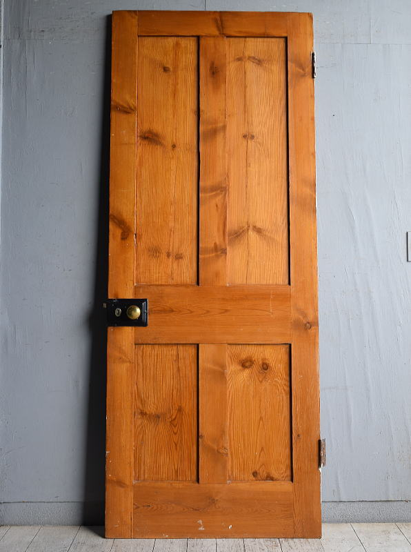 イギリス アンティーク パインドア 扉 建具 8850