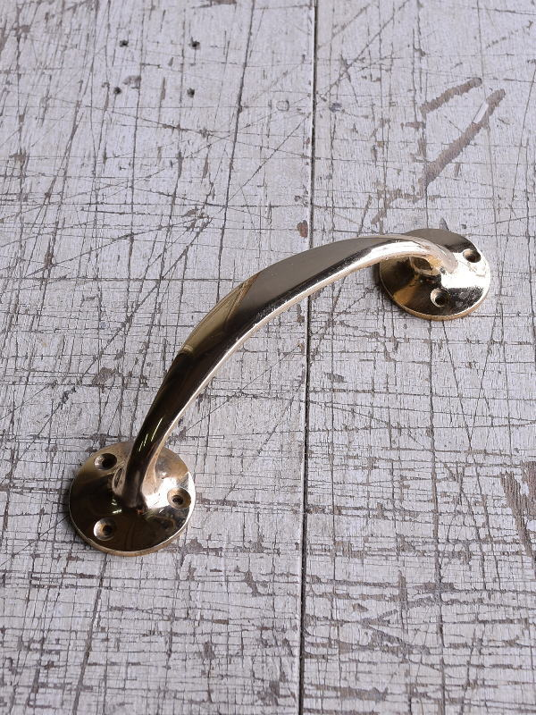 イギリス アンティーク 真鍮ハンドル 建具金物 取っ手 9243