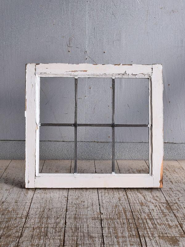 イギリス アンティーク 窓 無色透明 9263