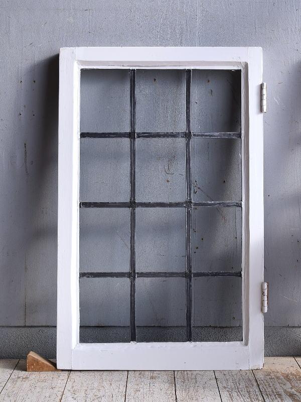 イギリス アンティーク 窓 無色透明 9372
