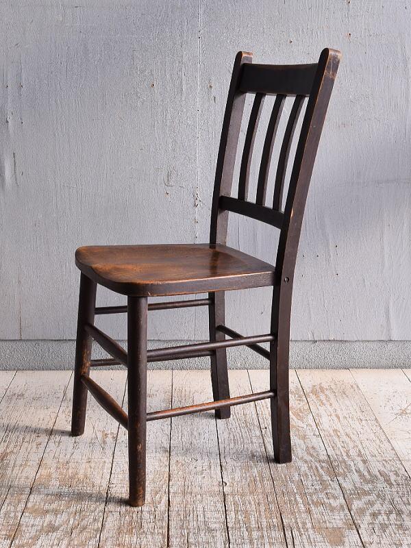 イギリス アンティーク家具 キッチンチェア 椅子 9405