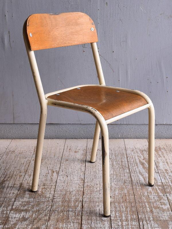 イギリス アンティーク スクールチェア 学校椅子 9431