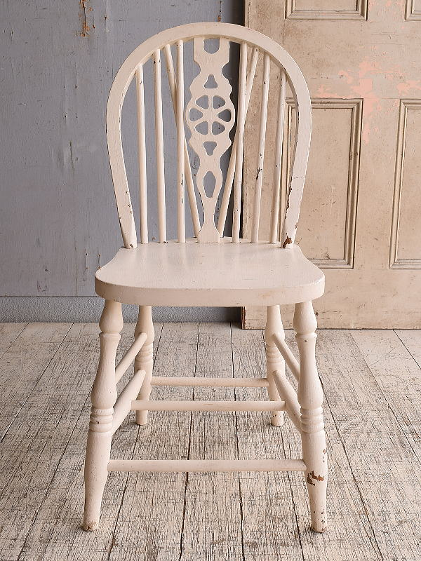 イギリス アンティーク家具 キッチンチェア 椅子 9850