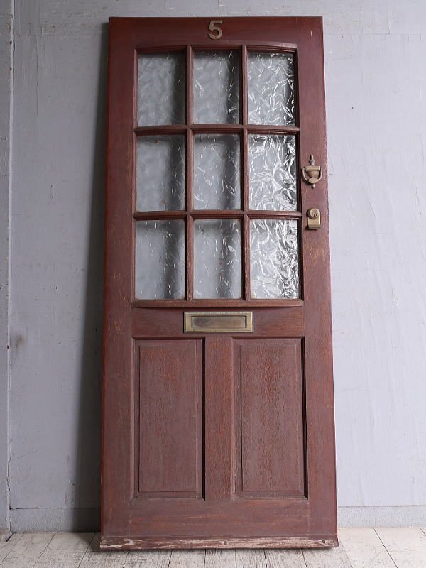 イギリス アンティーク ドア 扉 建具 9855
