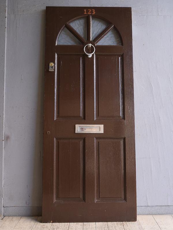 イギリス アンティーク ドア 扉 建具 9858