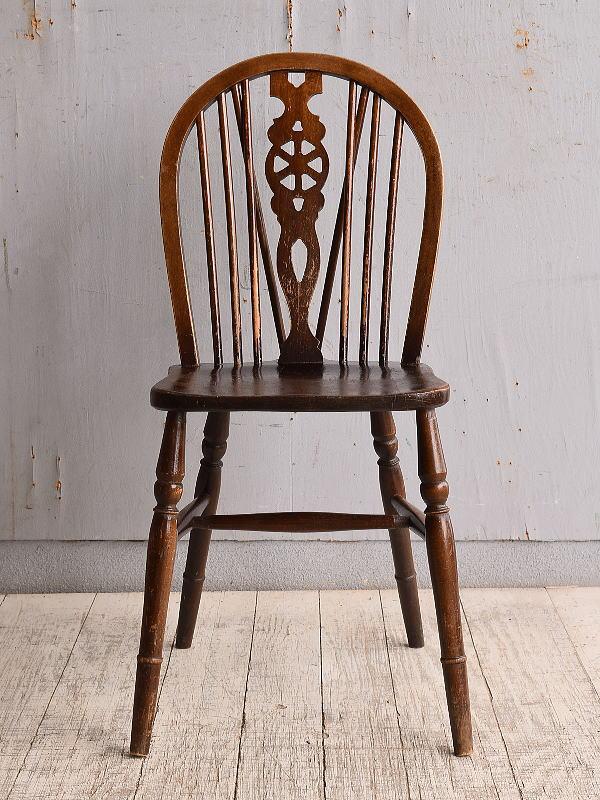イギリス アンティーク家具 キッチンチェア 椅子 9884