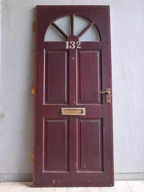 イギリス アンティーク ドア 扉 建具 10087