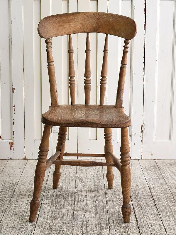 イギリス アンティーク家具 キッチンチェア 椅子 10124