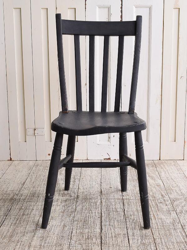 イギリス アンティーク家具 キッチンチェア 椅子 10126