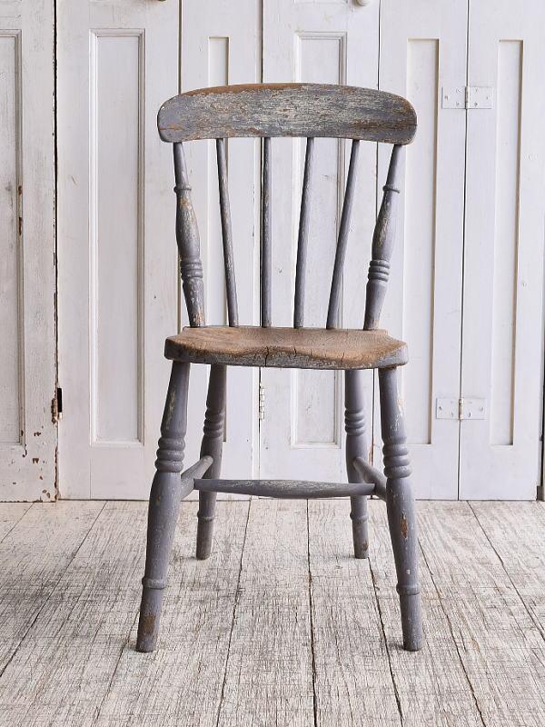 イギリス アンティーク家具 キッチンチェア 椅子 10129